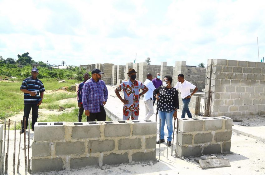 Technical Education and Information Commissioners access Tech. School Construction Progress