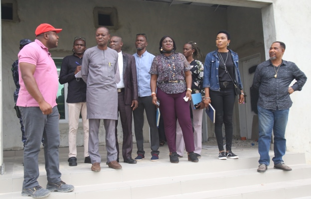 Honourable Commissioner on Project Monitoring visit
